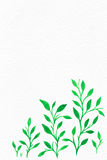Blumen-Aquarell Hintergrund für Ihren Text Stockfotos