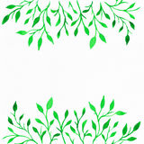 Blumen-Aquarell Hintergrund für Ihren Text Lizenzfreie Stockfotos