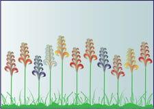 Blumen auf der Wiese Stockfotografie