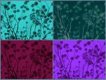 Blumen auf Niederlassungen Lizenzfreie Stockbilder