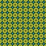 Blumen-Batik-Muster-Vektor Stockbild