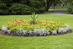 Blumen-Bett lizenzfreies stockfoto