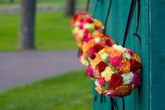 Blumen-Blumensträuße Lizenzfreie Stockfotos