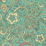 Blumen--dekorativ-Muster Lizenzfreie Stockfotos