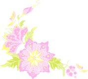 Blumen - dekoratives Element Stockfotos