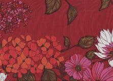 Blumen in den Herbstfarben Stockbilder