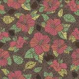 Blumen der Hibiscuse. Lizenzfreies Stockbild
