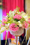 Blumen in der Hochzeit Lizenzfreies Stockbild