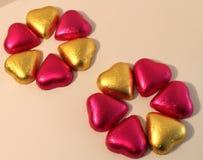 Blumen der Schokoladen-Innerer Lizenzfreies Stockbild