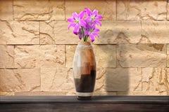 Blumen in einem Vase Stockfotografie