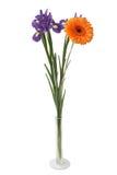 Blumen in einem Vase Stockfotos