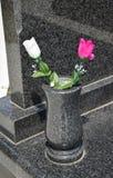Blumen in einem Vase Stockfoto