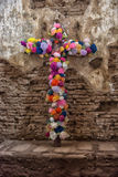 Blumen eines Kreuzes von Jesus Lizenzfreie Stockfotos