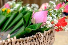 Blumen für Anbetung Stockfotografie
