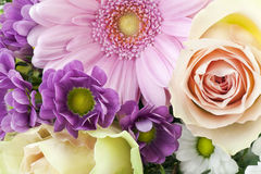 Blumen für die Freundin Stockbilder