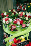 Blumen für Verkauf in Paris Lizenzfreie Stockfotos