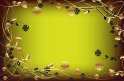 Blumen-Feldhintergrund Lizenzfreie Stockfotos