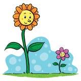 Blumen-Freunde Lizenzfreie Stockfotos