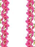 Blumen gestalten mit hölzernem Aufkleber, Stock Abbildung