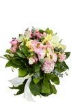 Blumen getrennt auf weißem Hintergrund lizenzfreies stockbild