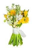Blumen getrennt auf weißem Hintergrund stockfoto
