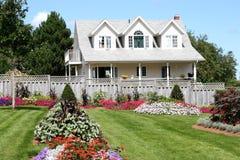 Blumen-Haus Lizenzfreies Stockbild