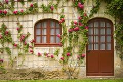 Blumen-Haus Stockbilder