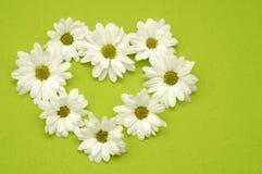 Blumen-Herz Lizenzfreies Stockfoto