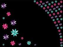 Blumen-Hintergrund Stockfotografie