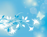Blumen-Hintergrund Lizenzfreies Stockbild