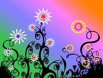Blumen-Hintergrund Lizenzfreie Stockfotografie