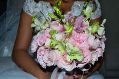 Blumen-Hochzeits-Blumenstrauß Stockbilder