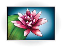 Blumen-Ikone Lizenzfreies Stockbild