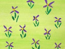 Blumen im Pastell Stockfotos