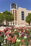 Blumen in im Stadtzentrum gelegenem Bezirk Fort Worths Lizenzfreie Stockfotografie