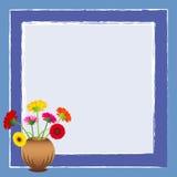 Blumen im Vase Stockbild