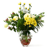 Blumen im Vase Stockfotos