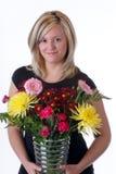 Blumen-Künstler Lizenzfreies Stockbild
