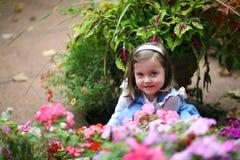 Blumen-Kind Lizenzfreie Stockfotografie