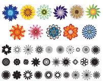 Blumen-Komponenten 1 Stockfoto
