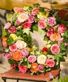 Blumen-Kranz Stockbild
