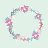 Blumen-Kreis Stockfotografie