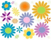 Blumen-Leistung vektor abbildung