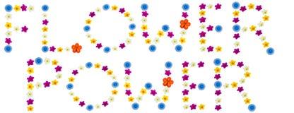 Blumen-Leistung Lizenzfreies Stockbild