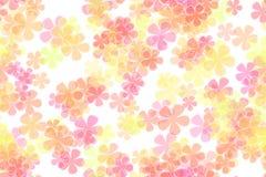 Blumen-Leistunghintergrund Lizenzfreie Stockbilder