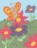Blumen-Liebhaber Lizenzfreie Stockfotografie