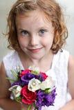 Blumen-Mädchen Lizenzfreies Stockfoto