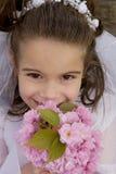 Blumen-Mädchen Stockfotos