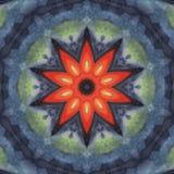Blumen-Mandala Stockbild