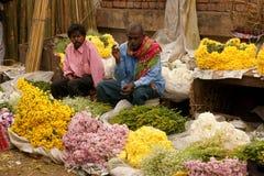 Blumen-Markt Lizenzfreies Stockfoto
